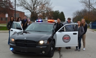 Law Enforcement students