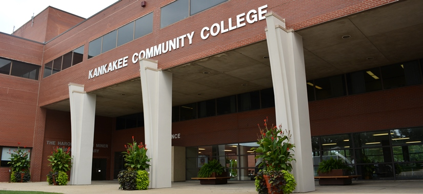 Kankakee Community College main entrance